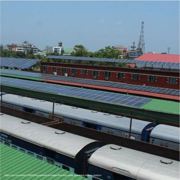 Solar Railway stations