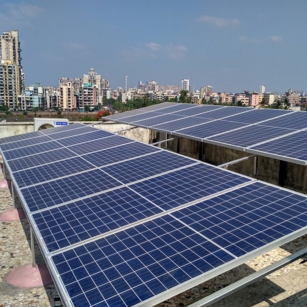 solar panel setup image